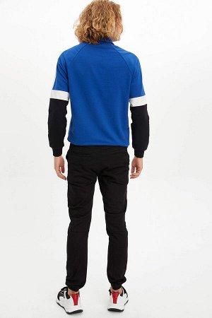 брюки Размеры модели: рост: 1,87 грудь: 96 талия: 78 бедра: 94 Надет размер: 30 Elastan 3%, Хлопок 97%
