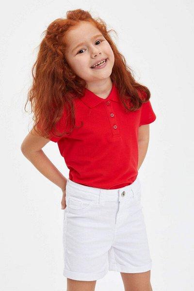 DEFACTO - детская коллекция.   — Девочки 3-14 лет ФУТБОЛКИ-ПОЛО — Футболки