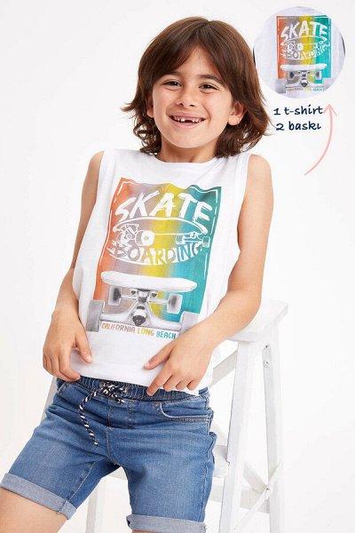 DEFACTO - детская коллекция.   — Мальчики 3-14лет майки — Для мальчиков
