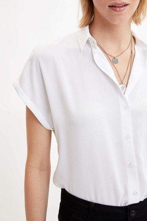 Рубашка экрю