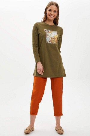 брюки Материал Размеры модели: рост: 1,77 грудь: 85  талия: 61  бедра: 90 Надет размер: 36 Naylon 20%,вискоз 80%