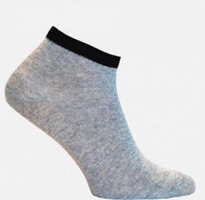 Носки женские серый+черный