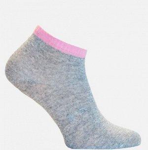 Носки женские серый+розовый