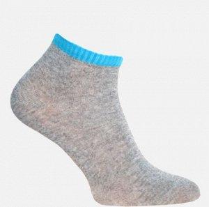 Носки женские серый+голубой
