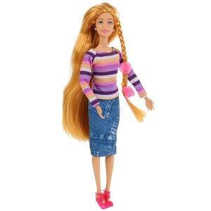 BLD165-S-KB Кукла 29см, София с аксессуарами для волос, сгибаются руки и ноги в кор. София и Алекс в кор.2*36шт