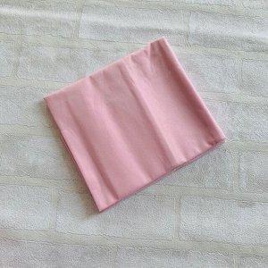 Наволочка 70х70 розовая