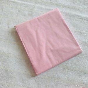 Простынь Двуспальная розовая