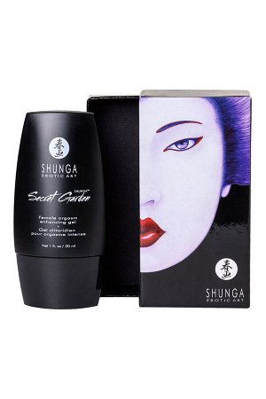 Возбуждающий крем для женщин Shunga Secret Garden, уникальная формула с L-аргинином, 30 мл