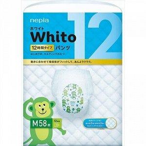 """577708 """"Whito"""" Детские подгузники-трусики (для девочек и мальчиков) 58 шт., 7-10 кг (М) 12 часов 1/3"""