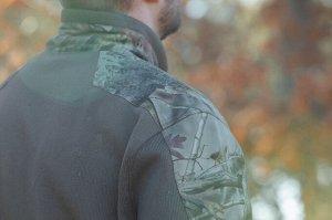 Свитер муж. камуфляжный для охоты Renfort 500 SOLOGNAC