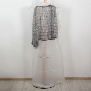 Набор чехлов для одежды 137х60 см 2шт, полиэтилен, прозрачный