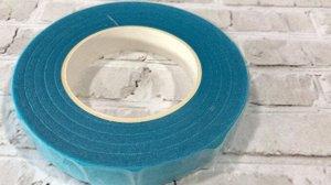 Тейп лента, 1,2 см, цвет голубой