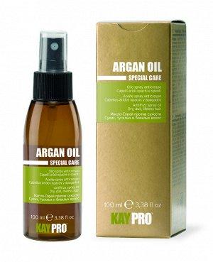 Масло-спрей аргановым маслом против сухости волос