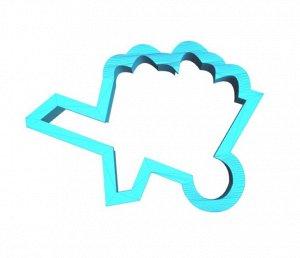 Тележка садовая, пластиковая форма для печенья