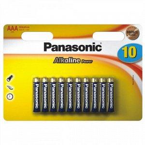Батарейка Panasonic Alkaline LR03 10BP