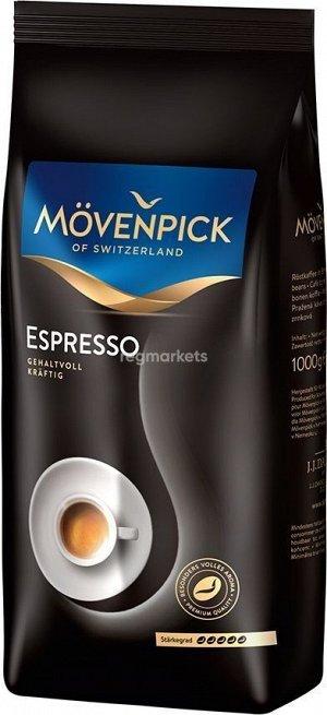 Movenpick Кофе в зернах Espresso 1 кг