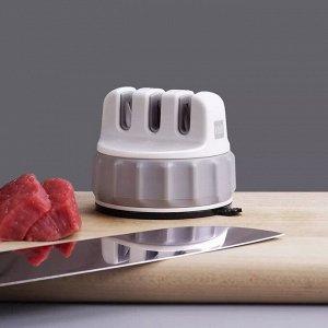 Мини точилка для ножей с присоской HuoHuo