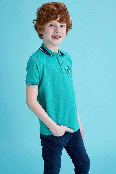 DEFACTO - детская коллекция.   — Мальчики 3-14лет футболки-поло — Футболки