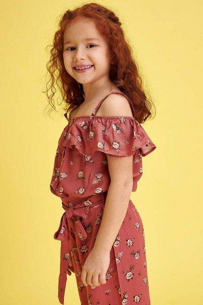 DEFACTO - детская коллекция.   — Девочки 3-14 лет модные блузы — Футболки, топы