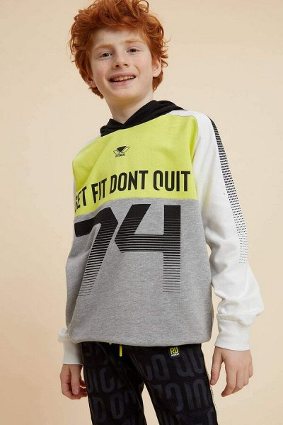 DEFACTO - детская коллекция.   — Мальчики 3-14лет толстовки, свитшоты — Свитшоты и толстовки