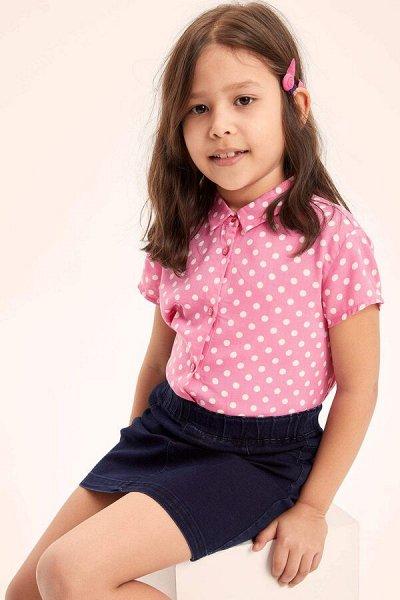 DEFACTO - детская коллекция.   — Девочки 3-14 лет рубашки — Блузки, туники