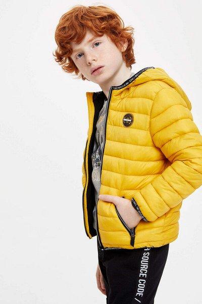 DEFACTO - детская коллекция.Распродажа в каждой коллекции    — Мальчики 3-14лет Верхняя одежда — Верхняя одежда