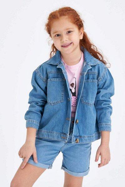 DEFACTO - детская коллекция.   — Девочки 3-14 лет верхняя одежда — Верхняя одежда