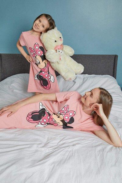 DEFACTO - детская коллекция.   — Девочки 3-14 лет комплект домашний (пижамный) — Одежда для дома