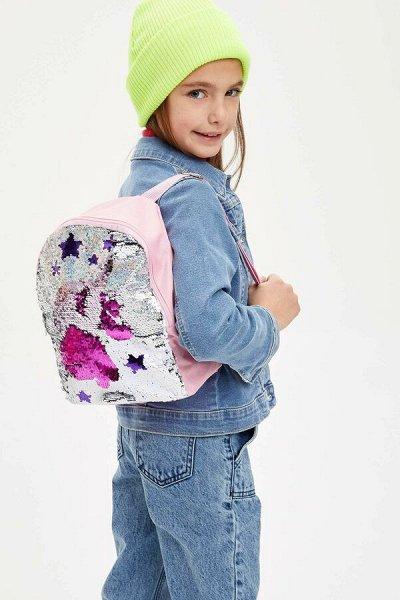 DEFACTO - детская коллекция.   — Рюкзачки для девочек — Сумки и рюкзаки
