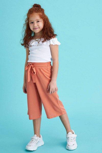 DEFACTO - детская коллекция.   — Девочки 3-14 лет брюки — Брюки