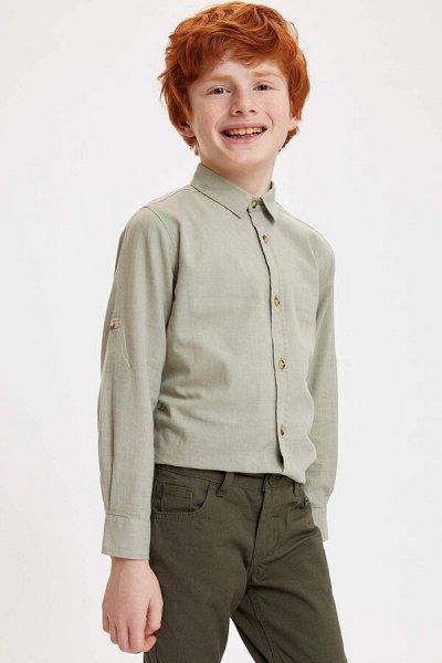 DEFACTO - детская коллекция.   — Мальчики 3-14лет рубашки — Рубашки