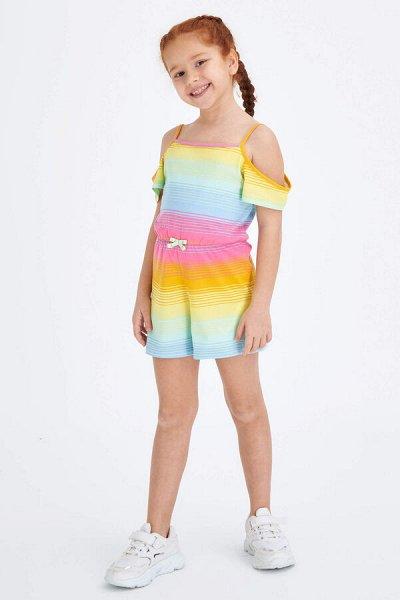 DEFACTO - детская коллекция.   — Девочки 3-14 лет Комбинезон — Комбинезоны и костюмы