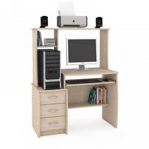 Стол компьютерный Комфорт 5, 1050х570х1325, Дуб паллада