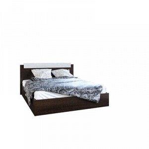 Кровать двуспальная, 1600х850х2000, Венге/Сосна лоредо