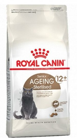 Royal Canin Ageing 12+ Sterilised сухой корм для стерилизованных кошек старше 12 лет, 2кг