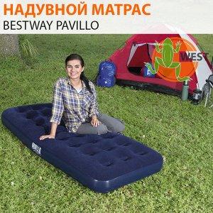Надувной матрас одноместный Bestway Pavillo 185х76х22 см