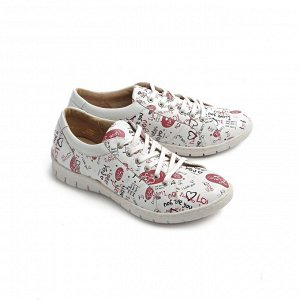 Туфли летние женские, красный, на 24.5 см.