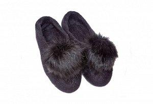 Чёрный Дизайнерские войлочные тапочки, ручная работа. Очень мягкие и приятные в носке, отлично испаряют влагу и остаются сухими. Мы гарантируем, что после того, как Вы поносите домашние тапочки из нат