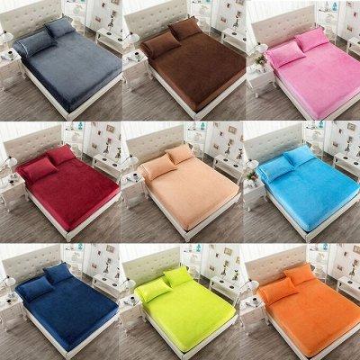 Лучшие помощники для дачи и дома!⚡ Молниеносная раздача!⚡ — Пледы, подушки , простыни на резинке — Постельное белье