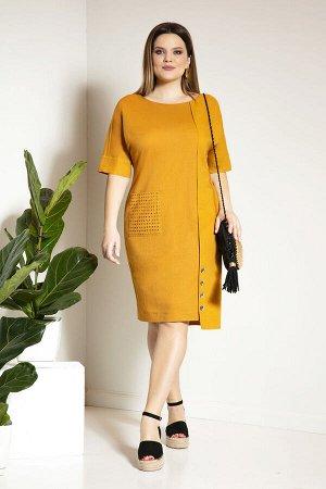 Платье Платье JeRusi 2055  Состав ткани: Вискоза-21%; Лён-79%;  Рост: 164 см.  Ах, лето! Самая чудесная пора в плане моды, легкости, воздушности моделей и расцветок моделей! Летом мы можем позволить