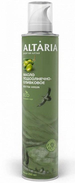 Масло подсолнечно-оливковое нерафинированное