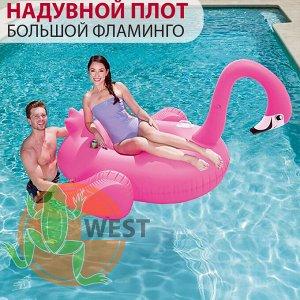 """Надувной плот """"Большой фламинго"""" 175x173см Bestway 🌊"""