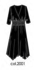 Платье ABITO M-LUNGA - черное