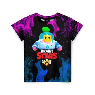 Brawl Stars. Детская одежда и аксессуары — Футболки Brawl Stars 3D — Футболки