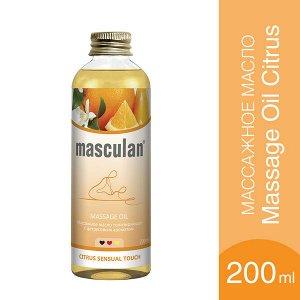 Маскулан Масло Массажное Masculan Тонизирующее С Цитрусовым Ароматом Фл.200мл