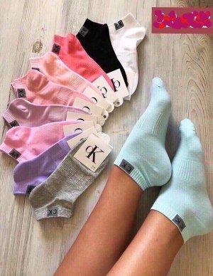 Носки женские, массажные укороченные