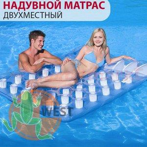 "Надувной матрас ""Двухместный"" Bestway 193х142 см 🌊"