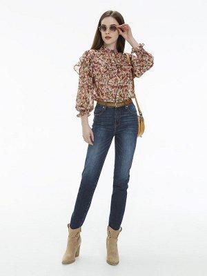 Женские джинсы арт. LKV005-1 синий