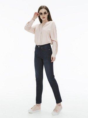 Женские джинсы арт. LKV006-1 темно-синий