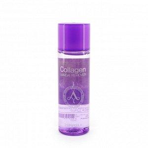 Двухфазная жидкость для снятия макияжа с коллагеном